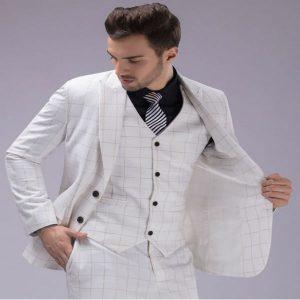 white Groomswear