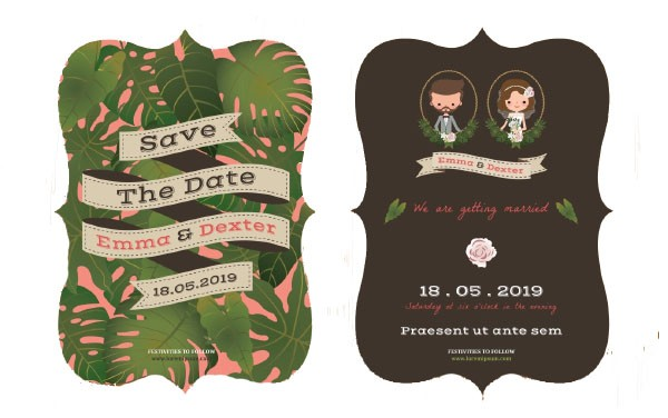 How to Write Invitations for a Destination Wedding